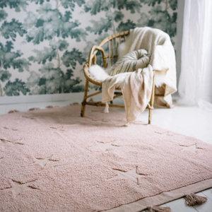 Lorena Canals Wasbaar tapijt Hippy Stars Nude