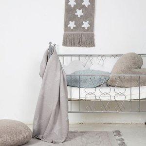 Lorena Canals Wasbaar tapijt Hippy Stars  Grey