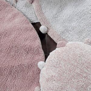 Lorena Canals Bubbly Vintage Nude vloerkleed - Ø 120 cm
