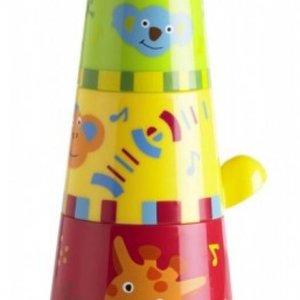 Babymoov Stapelbekertjes, voor uren Speel en Leer plezier