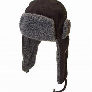 Trapper hat. gevoerde jongensmuts