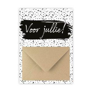 Hippe Kaartjes Geldkaart als kraamcadeautje - Voor jullie!
