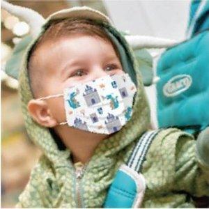 Nûby Kindermondmasker - jongens - 10st - 4-12j
