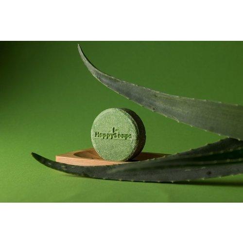Happy Soaps Aloe You Vera Much Shampoo Bar – Beschadigd, normaal en vet haar