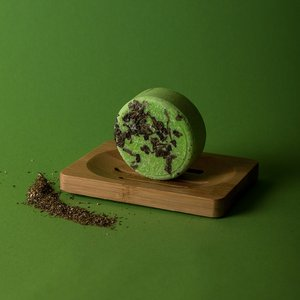 Happy Soaps Tea-Riffic  Shampoo Bar – Beschadigd, slap en droog haar