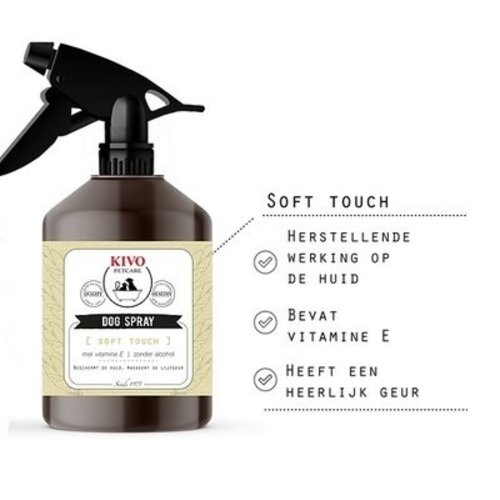 Kivo Dogspray Soft touch | 500 mL