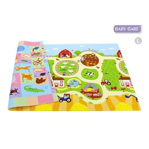 Dwinguler Speeltapijt baby - Speelkleed - Busy Farm (13mm)