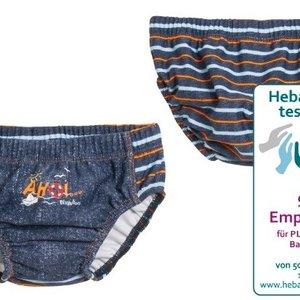 Playshoes Zwembroek - Zwemluier Blauw UV50 - Ahoy