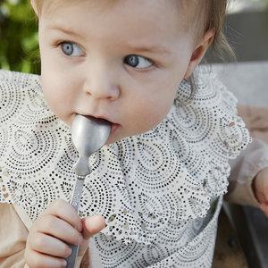 Elodie  Baby voedingslepel Goud of zilver