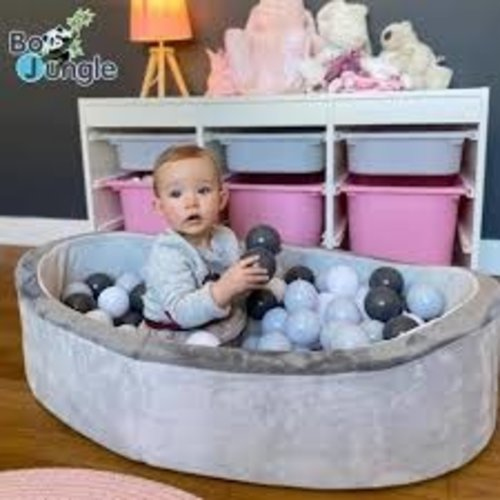 BoJungle B-Ball Pit Play Gym grey - Ballenbad