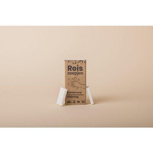 Happy Soaps Happy Mini Reis- en Toiletzeepjes (12 stuks)
