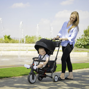 SmarTrike 7 in 1 opvouwbare driewieler - Urban Black STR7