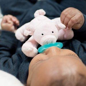 WubbaNub Speen met Speenknuffel  Baby Piglet (biggetje)