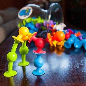 Fat Brain ToyCo Squigz  - Zuignap speeltjes 25 stuks