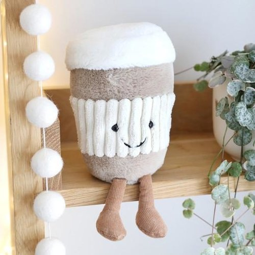 Jellycat  Amuseable Coffee to go - baby knuffelkoffie