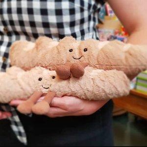 Jellycat  Amuseable Baguette  - baby knuffel-stokbroodje