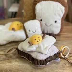 Jellycat  Amuseable Egg on Toast knuffel
