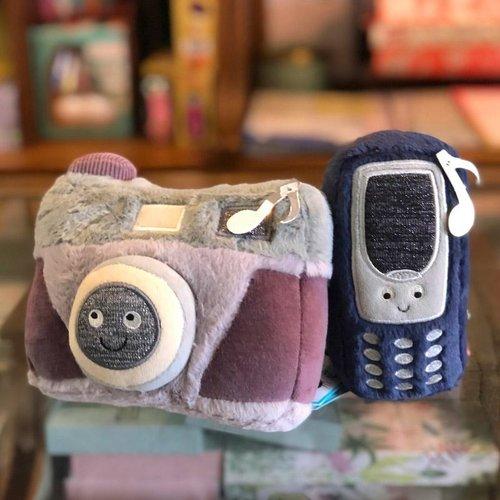 Jellycat  Wiggedy Phone - telefoon met geluid