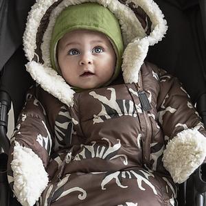 Elodie  Voetenzak -  Wagenpak voor autostoel White Tiger