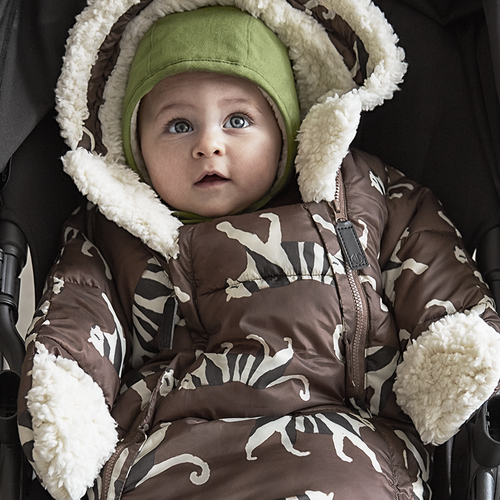 Elodie (vroeger: Elodie Details) Voetenzak -  Wagenpak voor autostoel White Tiger