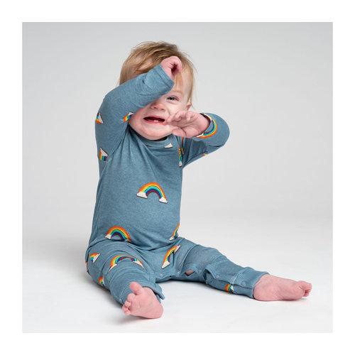 Snurk Bio katoen Babypakje Clay Rainbow