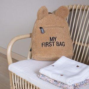 ChildHome Teddy Rugzak Kids my first bag Beige