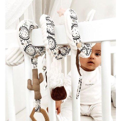 Les Déglingos Activiteitenspiraal  Baby Mchachos Llama