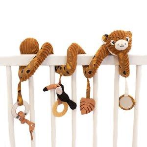 Les Déglingos Activiteitenspiraal Baby Speculos de tijger