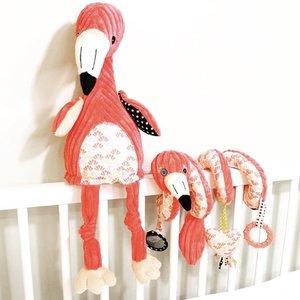 Les Déglingos Activiteitenspiraal Flamingo's de flamingo's