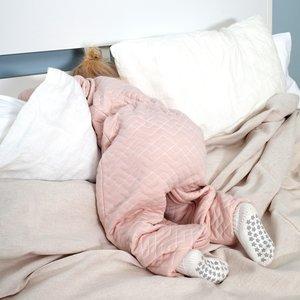 BeMiNi  1.5 TOG MAGIC BAG®  kleuter-slaapzak Pady Jersey Quilted OSAKA - Blush