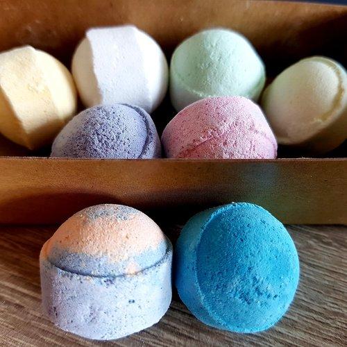 Happy Soaps 8 stuks Mini Bath Bombs - bruisballetjes