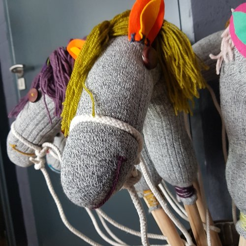 Handgemaakt Stokpaard -  Hans the horse