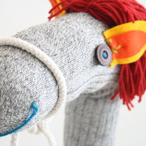 Handgemaakt Stokpaard -  Howard the horse
