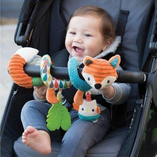 Infantino Speelspiraal voor box of Autostoel - Soft - Go-Gaga - Vos