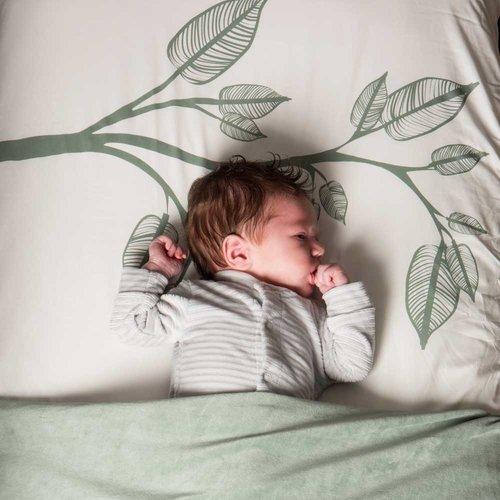 Witlof for Kids Onesie boxpakje ribfluweel - Warm Grey
