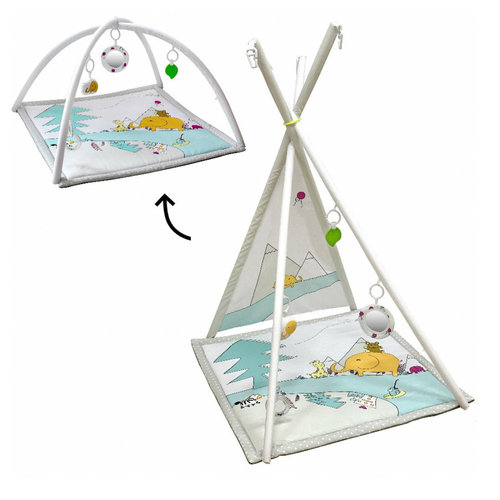Tryco Lovely Park Tipi Activity Gym Speelkleed