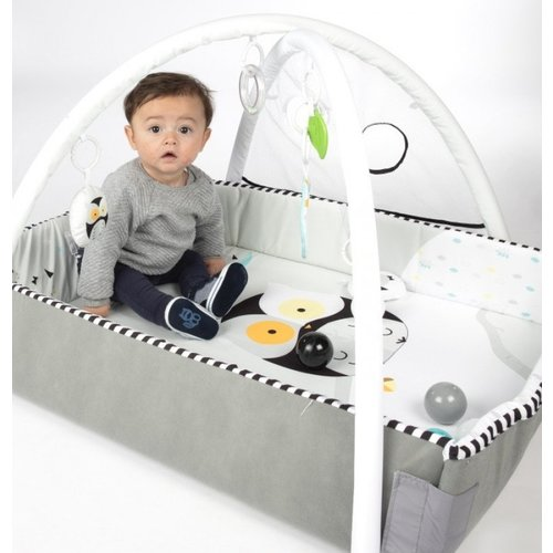 Tryco Tryco 5-in-1 Lovely Owl Ball Play Activity Gym Speelkleed  deluxe