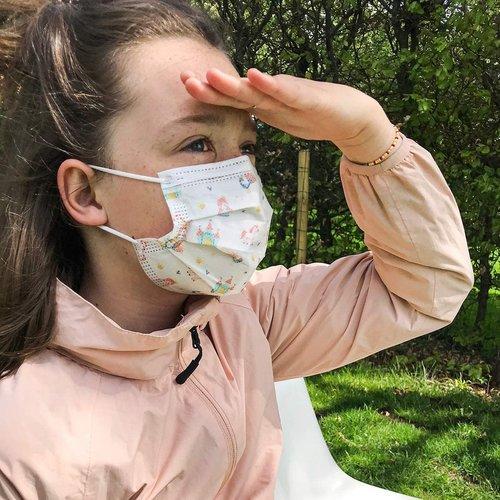 Nûby Kindermondmasker -meisjes - 10st - 4-12j