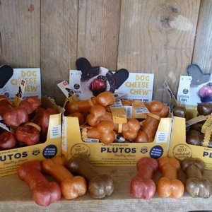 Plutos Natuurlijke kaasbotjes in diverse smaken