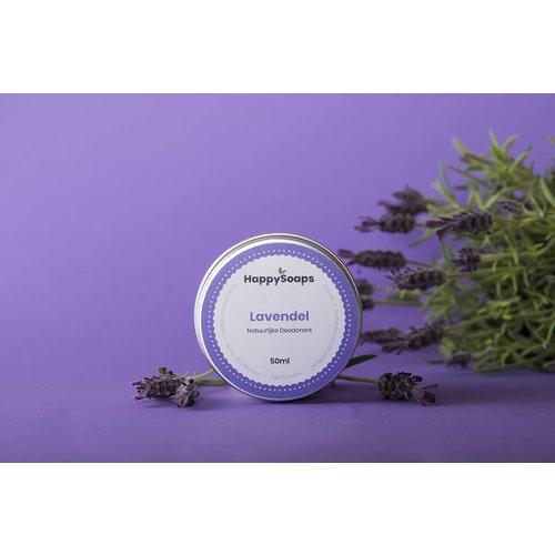 Happy Soaps Natuurlijke Deodorant – Lavendel