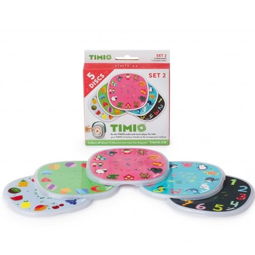 Timio Disc Pack 2 voor Audio-en Muziekspeler