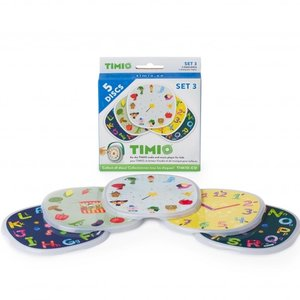Timio Disc Pack 3 voor Audio-en Muziekspeler