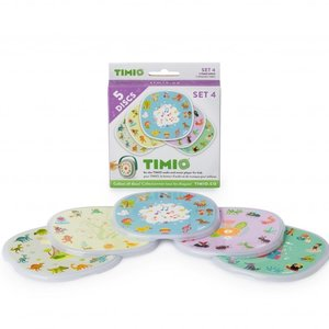 Timio Disc Pack 4 voor Audio-en Muziekspeler