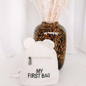ChildHome Teddy Rugzak Kids my first bag Ecru