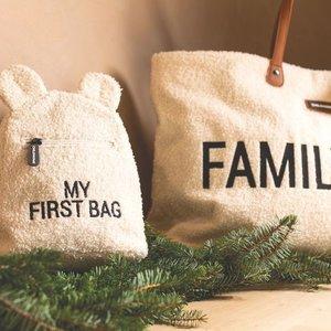 ChildHome Mommy bag zeer grote verzorgingstas Teddy - Ecru