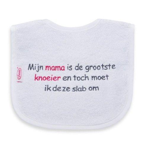 Funnies Tekstslabber Mama is de grootste Knoeier