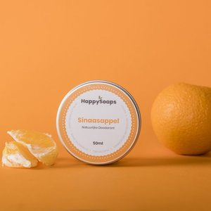 Happy Soaps Natuurlijke Deodorant – Sinaasappel