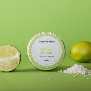 Happy Soaps Natuurlijke Deodorant – Kokos en Limoen