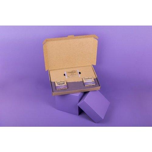 Happy Soaps Plasticvrije Verzorging Giftbox – Lavender Lullaby Medium