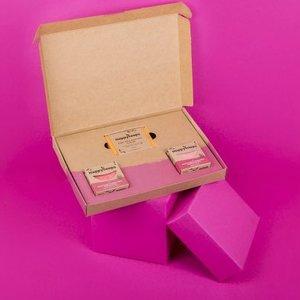 Happy Soaps Plasticvrije Verzorging Giftbox – Fruity Passion Medium